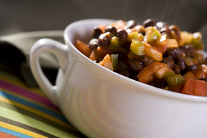 Chunky vegetable chilli