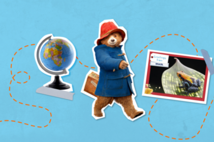 Paddington's postcards are the perfect gift for little ones this Christmas