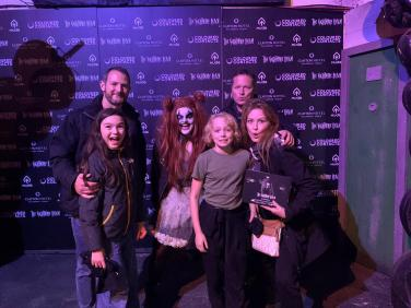 Young Hollywood stars take on Ireland's most terrifying attraction: The Nightmare Realm at The RDS!