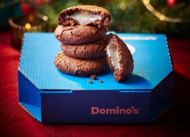 Dominos Pizza unveil new The Festive One pizza and After Eight cookies
