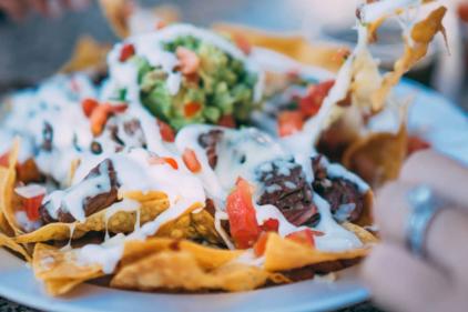 "Enjoy a fresh batch of ""Doritos Abra Taco Nachos"" from your nearest Abrakebabra!"