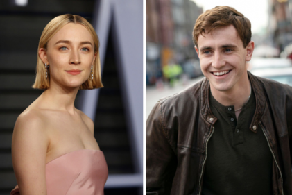 Saoirse Ronan & Paul Mescal play star-crossed lovers in upcoming Sci-Fi film