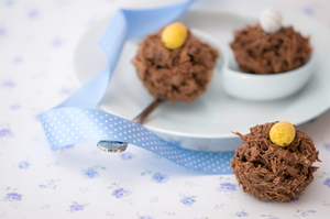 Shredded wheat nests