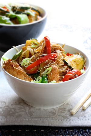 Stir-fried pork with ginger and honey