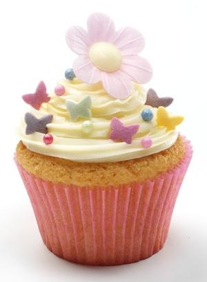 Easy swirl cupcakes