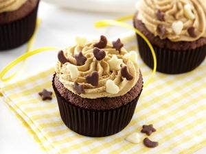 Mocha choca cupcakes