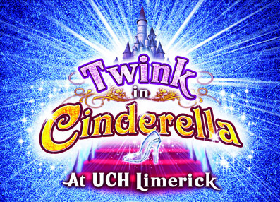 Limerick: Twink in Cinderella Panto