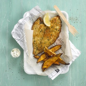 New style fish and chips