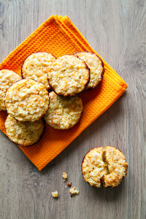 Carrot and orange muffins