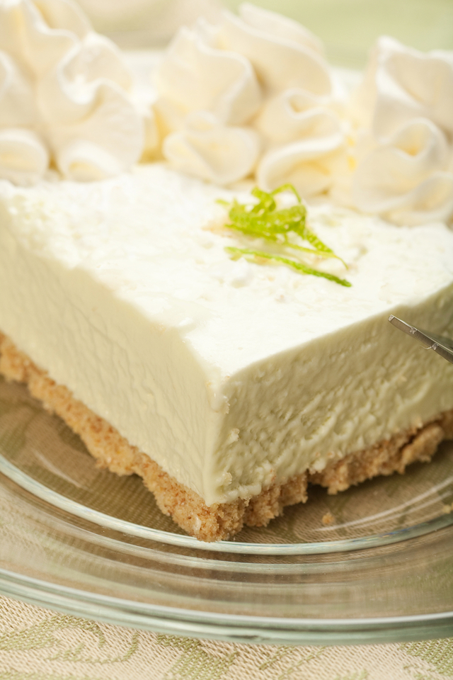 Easy key lime and chocolate pie
