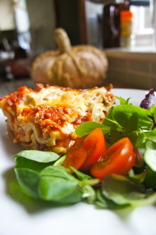 Turkey lasagne