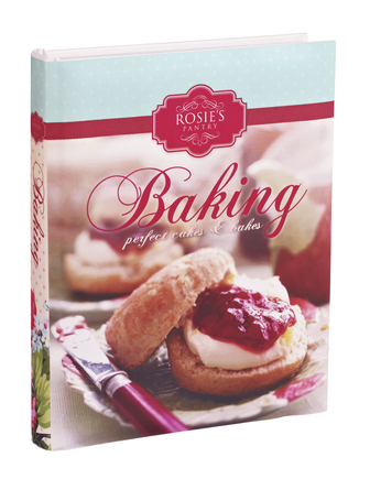Rosie's Pantry Baking Perfect Cakes and Recipe Book, 8.50 euro