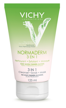Vichy Normaderm 3 in 1 Cleanser (RRP E13.25)