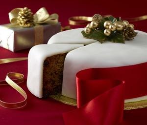 Dr. Oetker Christmas cake