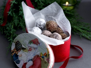Siucra Christmas truffles