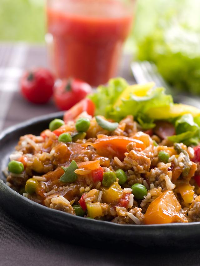 Easy lentil curry