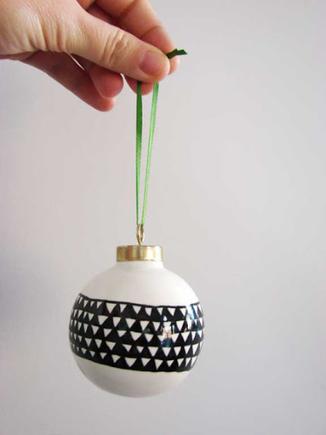 DIY hand drawn ornament