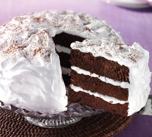 Devilish chocolate cake