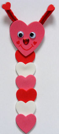 Loveworm bookmark