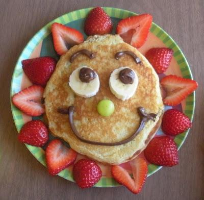 Sunny pancakes