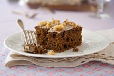 Gluten-free gingerbread sheet cake