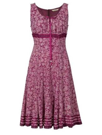 Pink Gypsy Style Dress