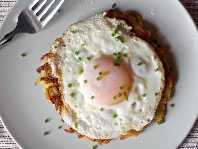 Big breakfast rostis