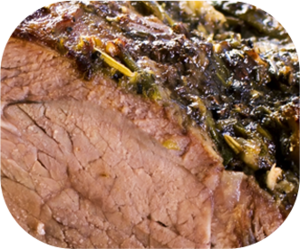 Dairygold herb crusted leg of lamb