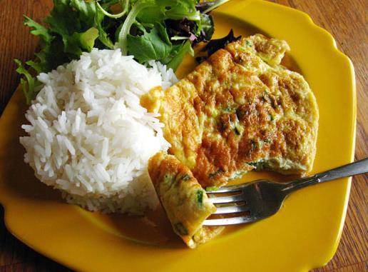 Simple Thai-Style Omelette