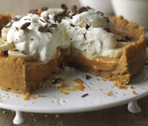 Quick banoffee pie