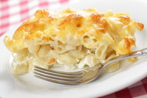 Rustic macaroni cheese