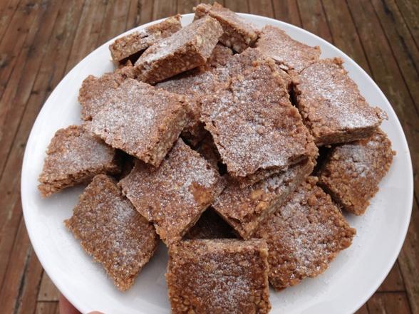 Gluten-free chocolate biscuit cake