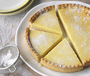 Light lemon tart