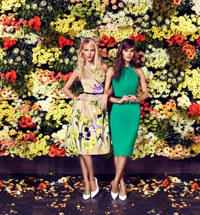 Amelie Dress and Loula Green Dress