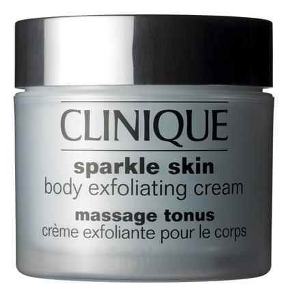 Sparkle skin exfoliating cream