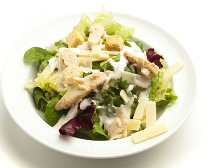 Denny deli style roast chicken caesar salad
