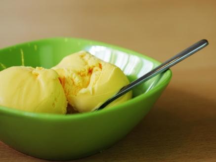 One ingredient banana ice-cream