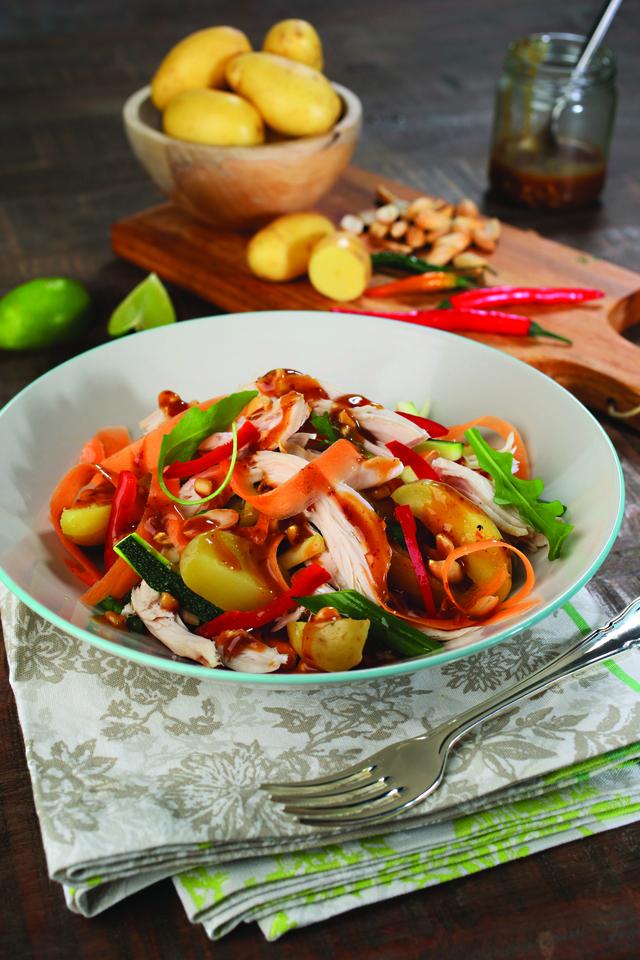 Rosco's super healthy chicken salad