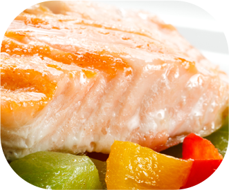 Dairygold garlic and chilli grilled salmon topper