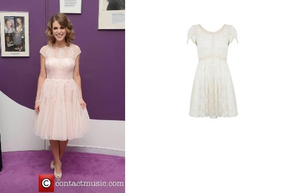 Amy Huberman – Embellished Tea Dress