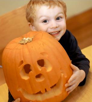 Pumpkin Carving at the Pavilion