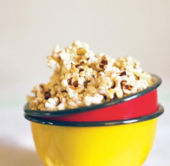 Honey & cinnamon popcorn