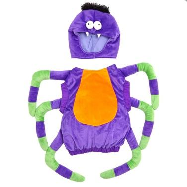 Kids Animal Costume with Hood, Spider