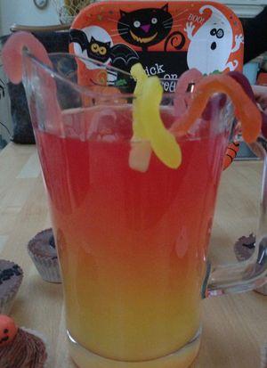 Halloween snake juice
