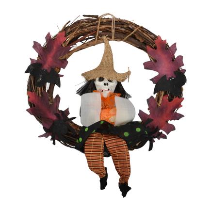 Hanging Skull Wreath