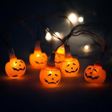 Pumpkin Lights 10 Pack