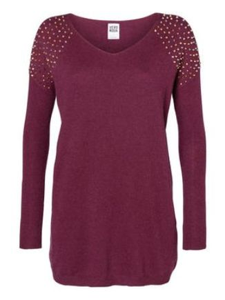 Tunic Style Jumper with Studs Feature