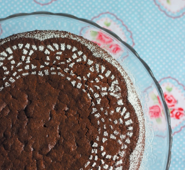 Chocolate milk cake