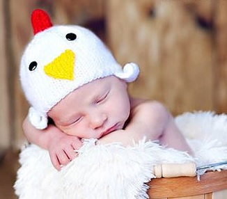 Baby Chicken Hat