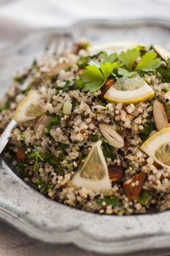 Coconut quinoa and kale